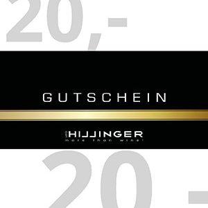 Leo Hillinger 20 Euro Geschenkgutschein
