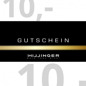 Leo Hillinger 10 Euro Geschenkgutschein